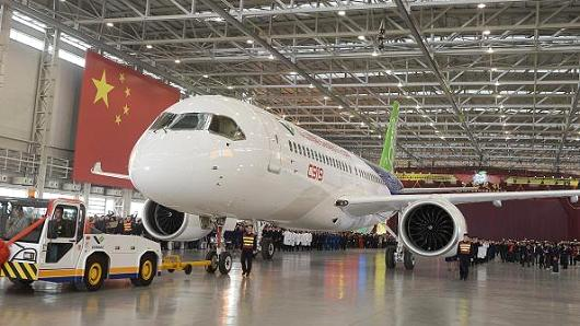 Chinese aircraft manufacturer uses big data to build safer planes